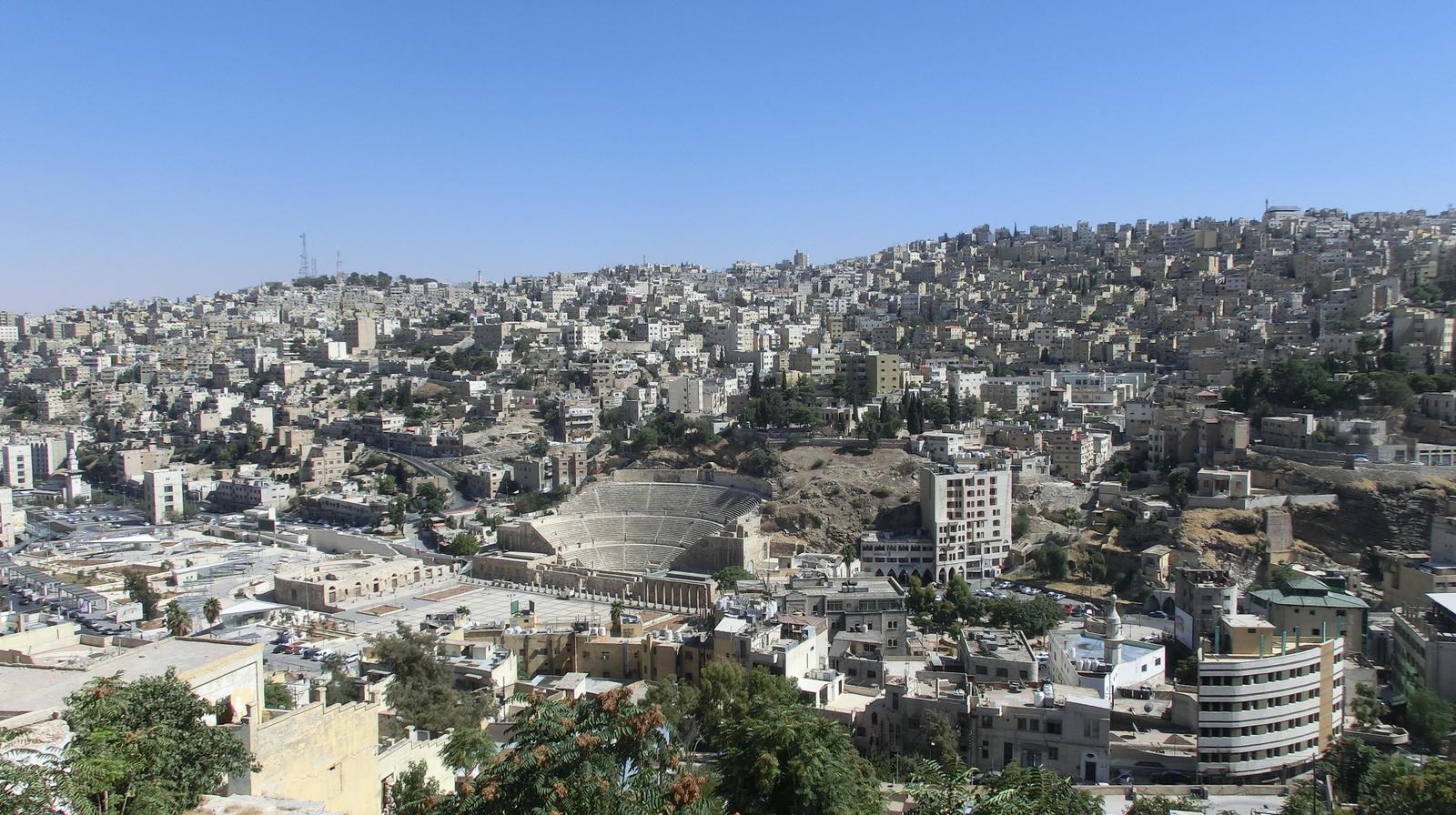Amman - Erbaut auf sieben Hügeln