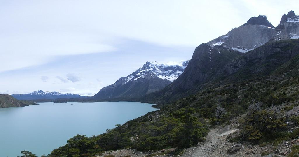 Trekking zum Refugio Los Cuernos