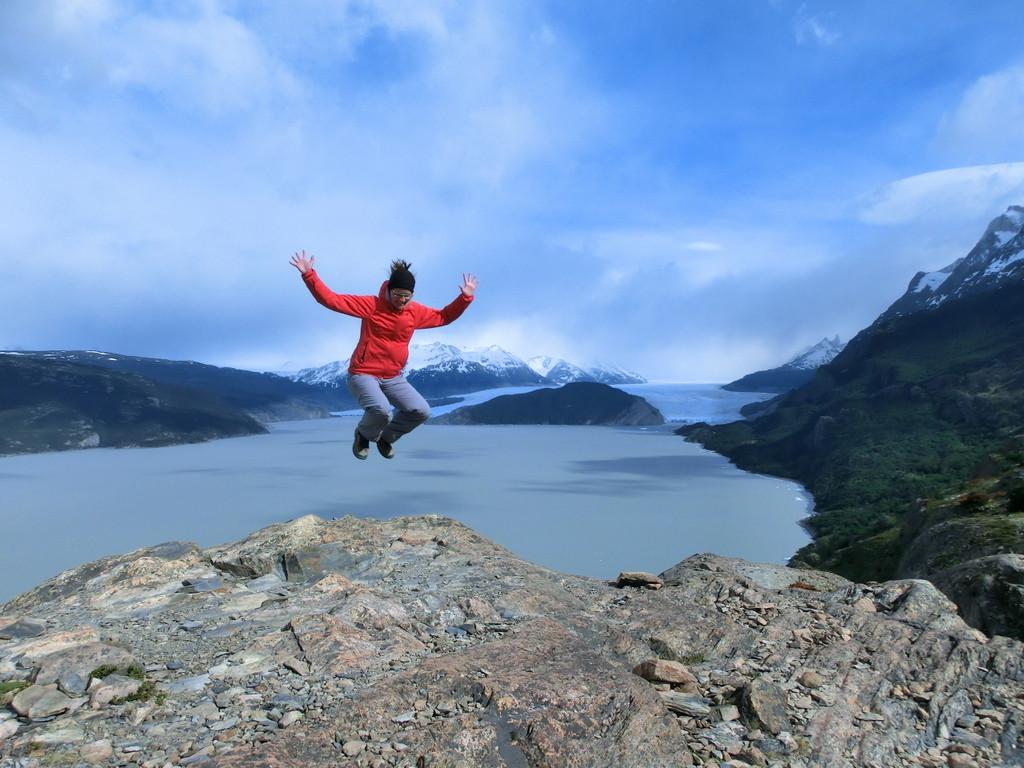 Aussichtspunkt Grey Gletscher