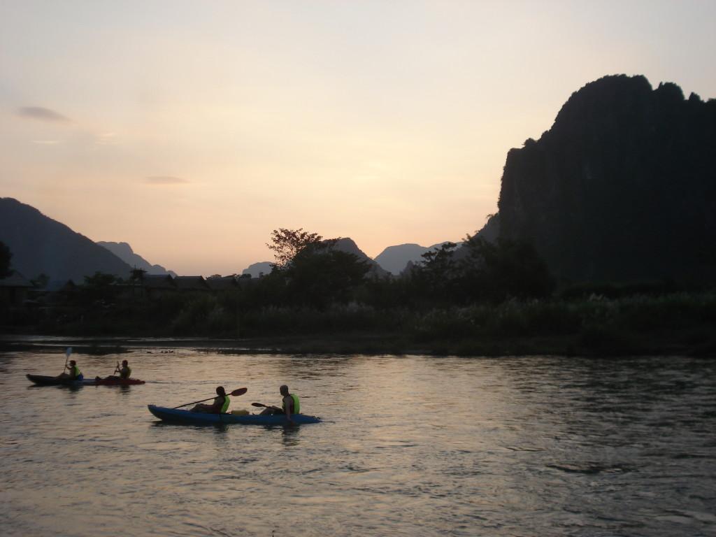 Aktiv in Laos