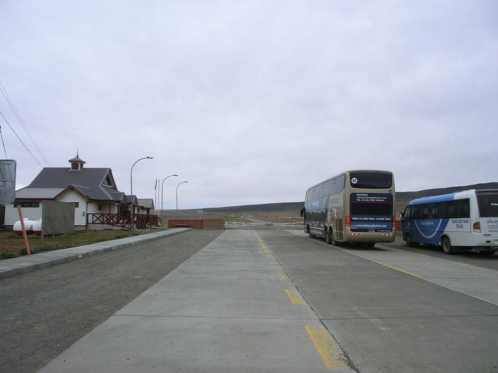 Grenzübergang Argentinien - Chile