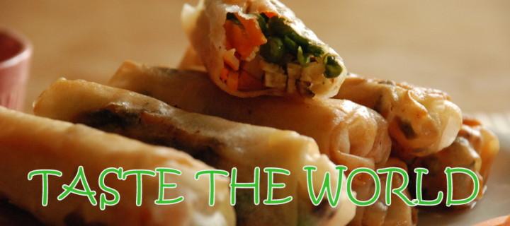 TASTE THE WORLD – Reisen und Essen