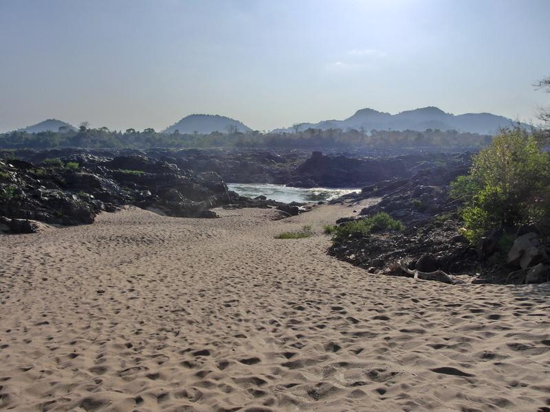Mein Traumstrand in Laos auf der Inseln Don Khon