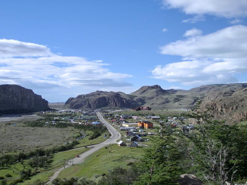 EL Chalten in Patagonien