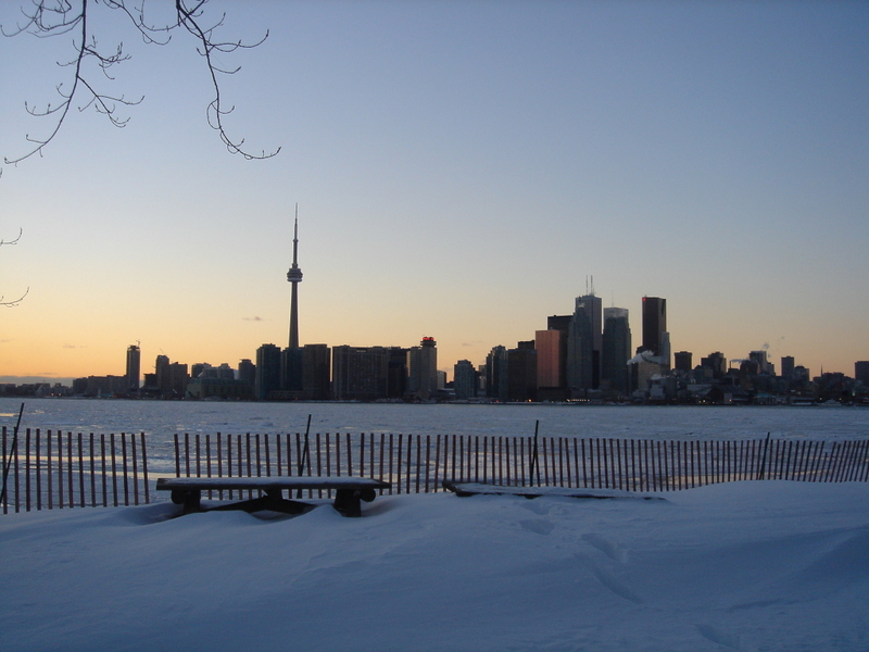 Toronto im Winter
