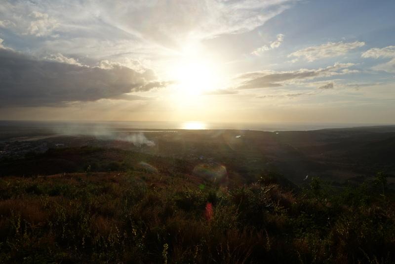 Blick vom Cerro de la Vigía