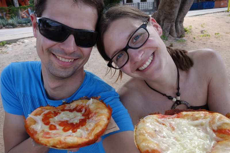Pizza in La Boca