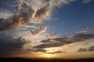 Sonnenuntergang Kuba