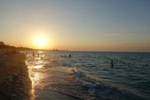 Sonnenuntergang Varadero