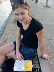 Sticky Rice mit Mango