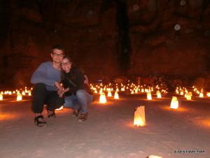 Jordanien - Petra by night tour