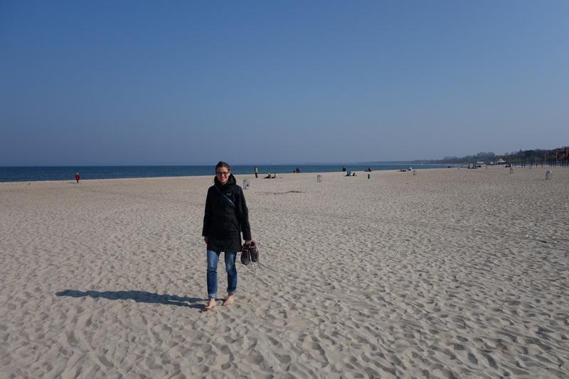 Strandspaziergang in Sopot