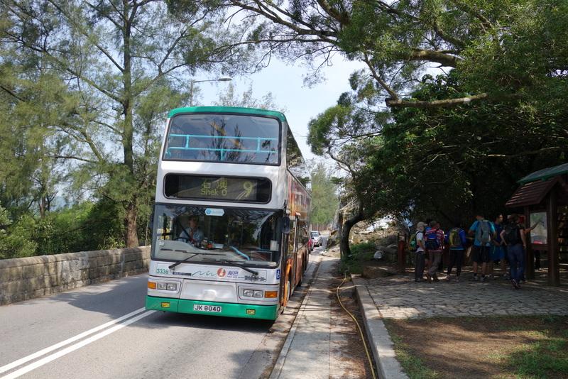 Anfahrt Dragon´s Back - Bus 9