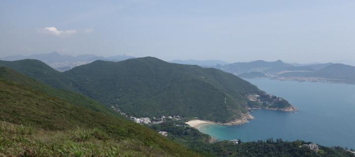 Wandern auf dem spektakulären Dragon´s Back in Hong Kong