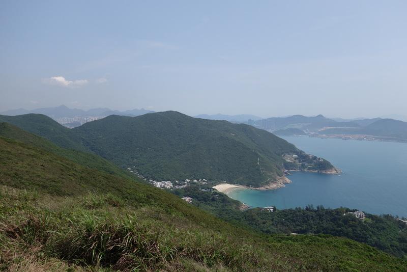 Ziel der Wanderung - Der Big Wave Bay Beach