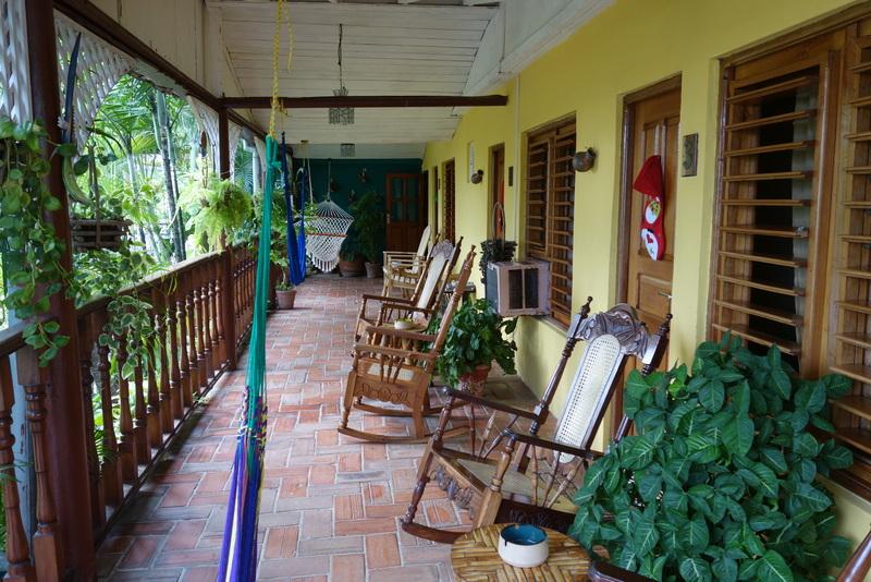 Unsere Unterkunf in Cienfuegos - Villa Lagarto