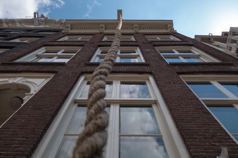 Amsterdam Lagerhaus Seil