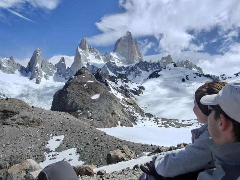 Aussichtspunkt auf den Fitz Roy - Laguna de los Tres