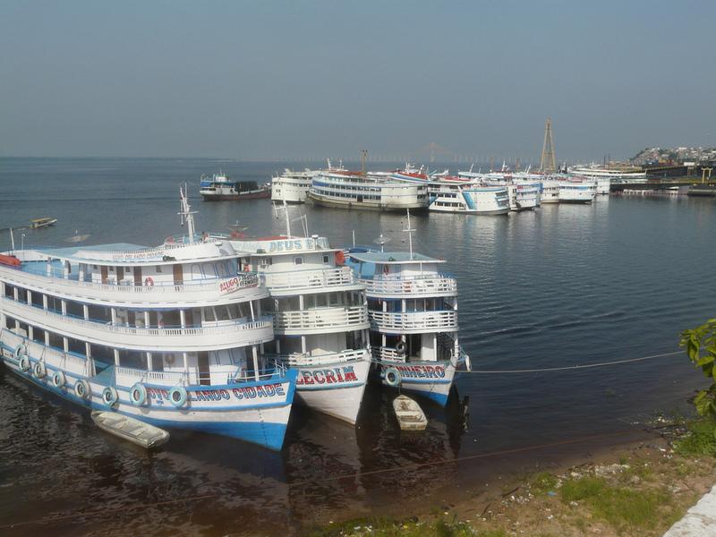 Brasilien Reisehighlights Hafen Amazonas