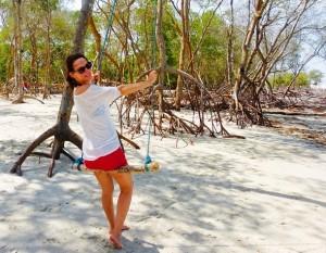 Brasilien Reisehighlights Happy Backpacker Strand
