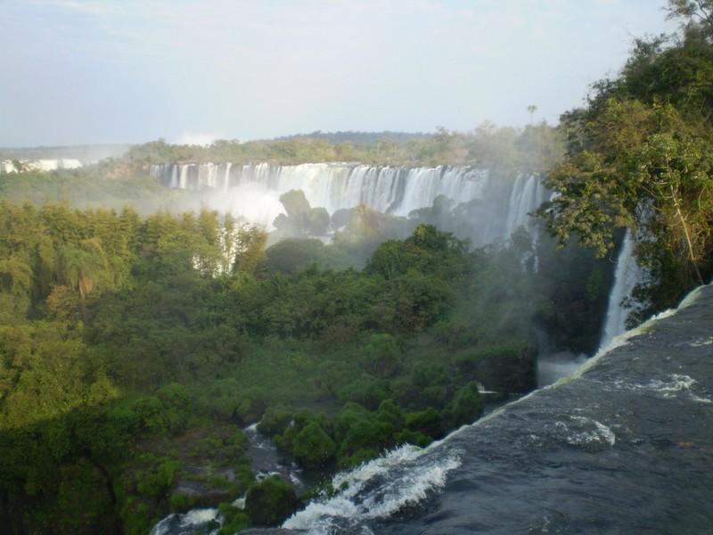 Reisehighlights Brasilien Iguazu von oben An Irishman on tour