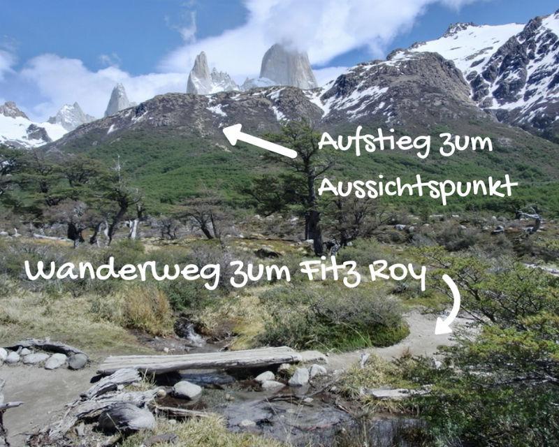 Trekking Fitz Roy Trekkingbeschreibung