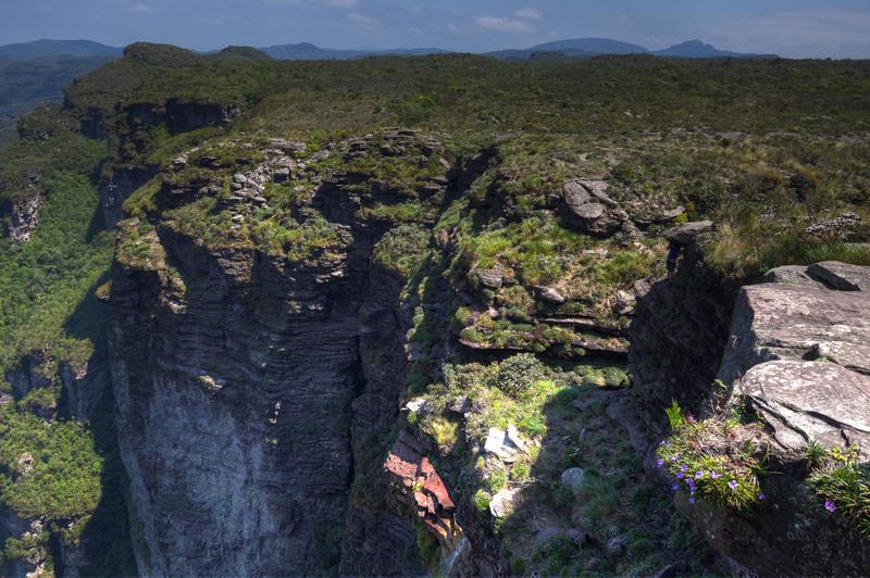 Cachoeira de Fumaça Chapada Diamantina NP Trekking
