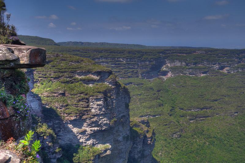 Chapada Diamantina NP Aussicht Cachoeira de Fumaça