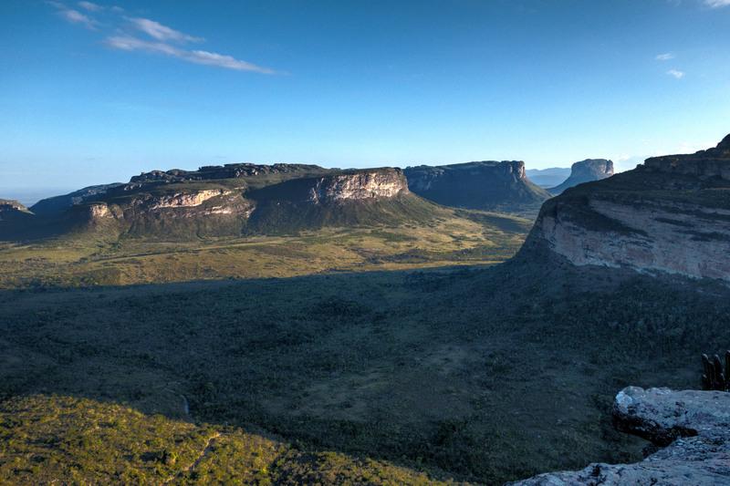 Chapada Diamantina NP Aussicht vom Morro do Pai Inácio