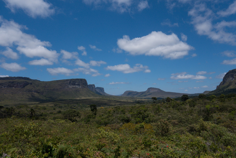 Chapada Diamantina Nationalpark Panorama