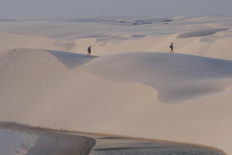 Dünen Lençóis Maranhenses, Wüste in Brasilien