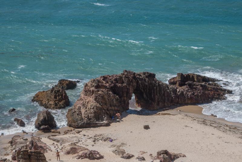 Jericoacoara Brasilien Nordosten Pedra Furada