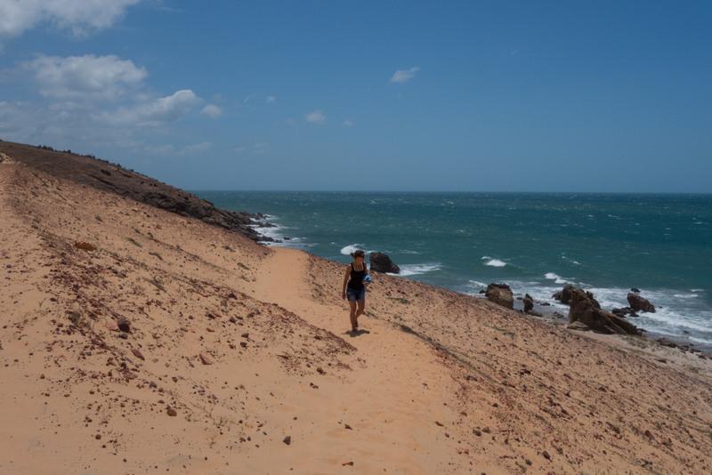 Jericoacoara Brasilien Nordosten Wanderung Pedra Furada