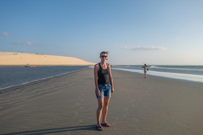 Jericoacoara Strand Brasilien Nordosten