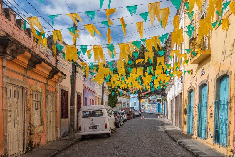Olinda Brasilien Straße