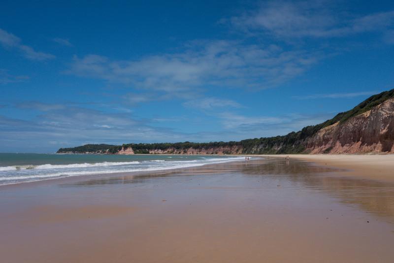 Praia da Pipa Baia dos Golfinhos Brasilien Nordosten