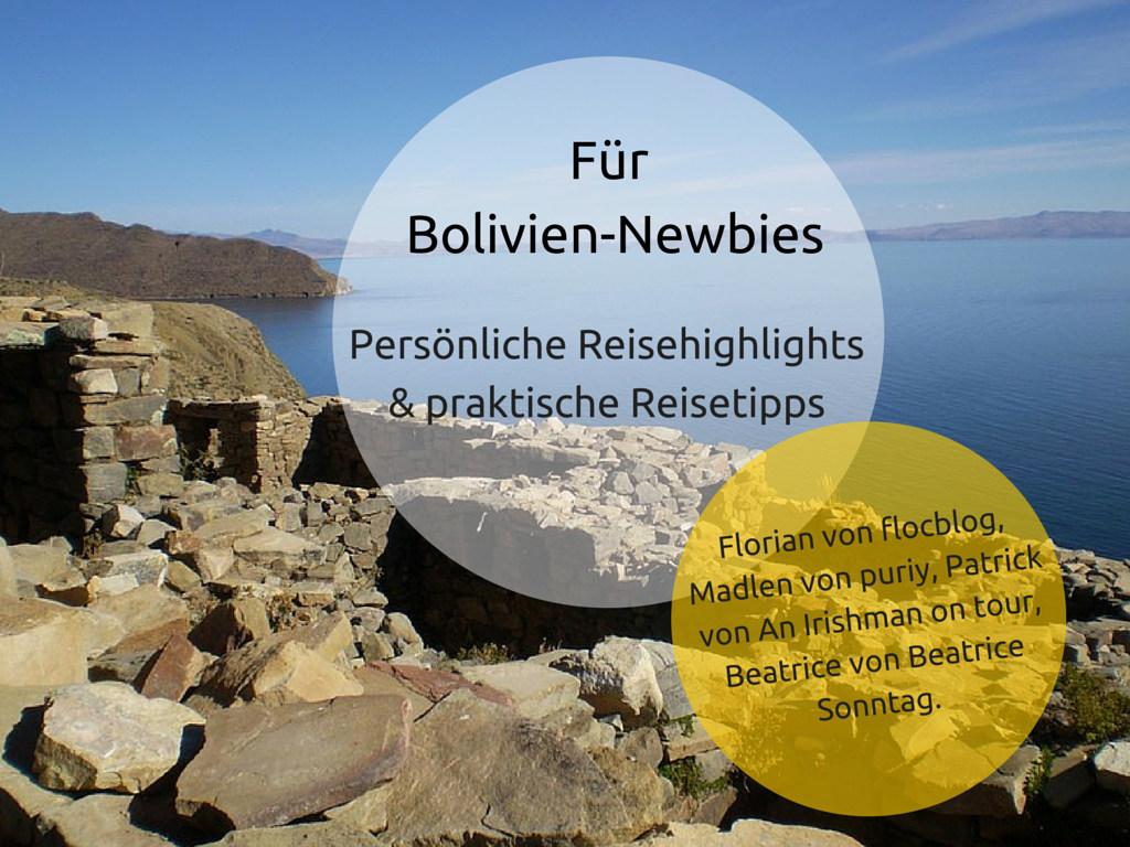 Für Bolivien-Newbies