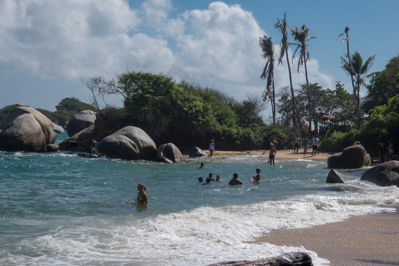 Baden Karibikküste Kolumbien Tayrona Nationalpark