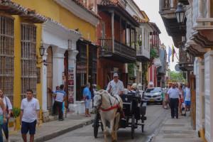 Cartagena Karibikküste Kolumbien
