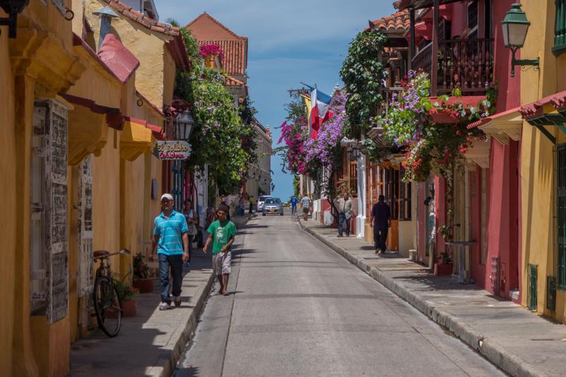 Karibikküste Kolumbien Cartagena Altstadt