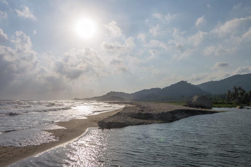 Sonnenaufgang Tayrona Nationalpark Kolumbien Karibikküste