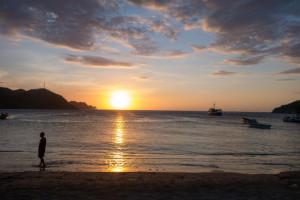 Sonnenuntergang Taganga Karibikküste Kolumbien
