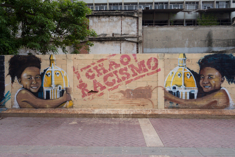 Street Art in Getsemani Karibikküste Kolumbien
