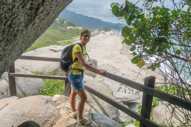 Wanderung Tayrona Nationalpark Karibikküste Kolumbien