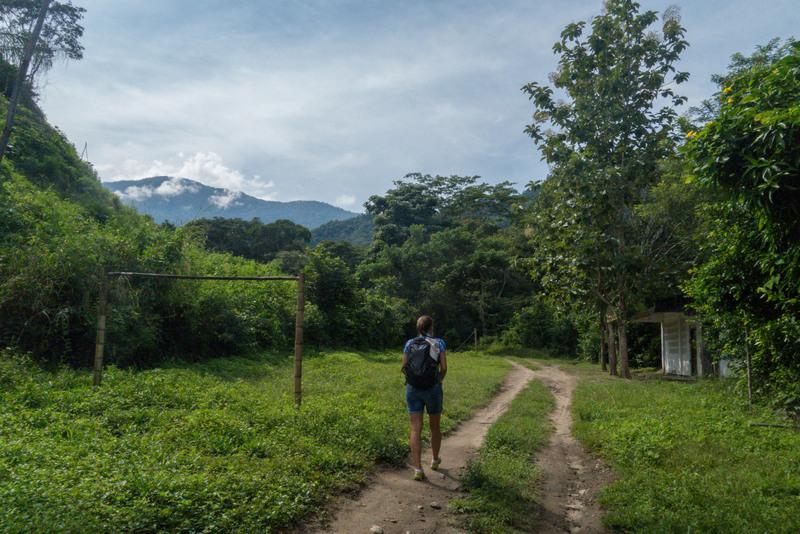Wanderung in der Sierra Nevada de Santa Marta Kolumbien Karibikküste