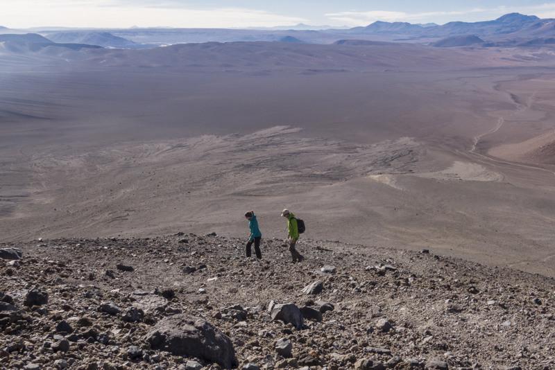Vulkanbesteigung auf 5.600 Meter in Chile - Ohne ausreichende Höhenanpassung kaum zu schaffen