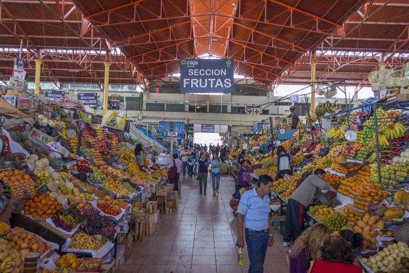 Peru Reisekosten Essen