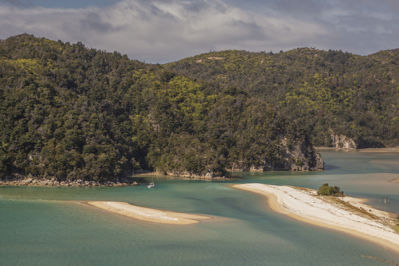 Abel Tasman Aussicht Neuseeland Südinsel Highlight