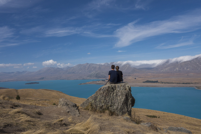 Lake Tekapo Mt. John Highlight Neuseeland Südinsel