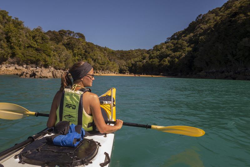 Sea Kayak Abel Tasman Neuseeland Südinsel Highlight